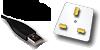 usb charging and 3-pin Plug Charging