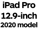 iPad Pro 12.9-inch 2020 with Face ID