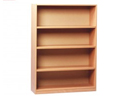 CT3104 Tall Mobile Open Storage Unit with Adjustable Shelf