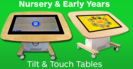 Nursery Touch Tables