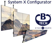 B-Tech Video Wall