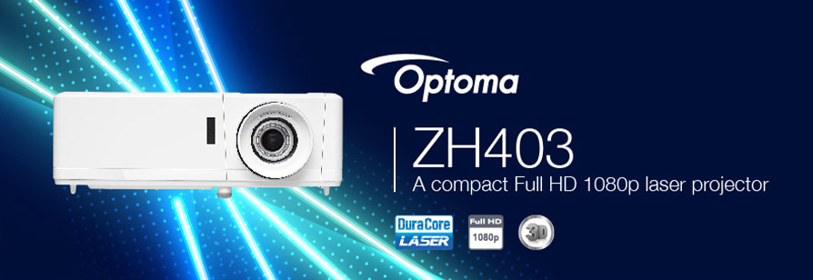Banner for Optoma ZH403 Projector - 30000 Hours Maintenance-free Laser Light Source