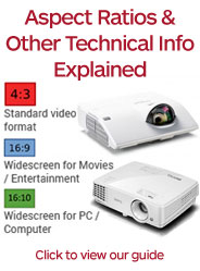 Technical Info and Guide to Projectors