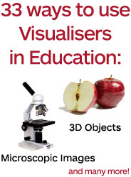 With a Visualiser, you can display many things - click for more