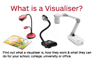 what is a visualiser document camera