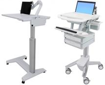 Ergonomic Sit-Stand Healthcare Workstations Image