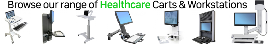 Healthcare and Medical Mounts and Workstations