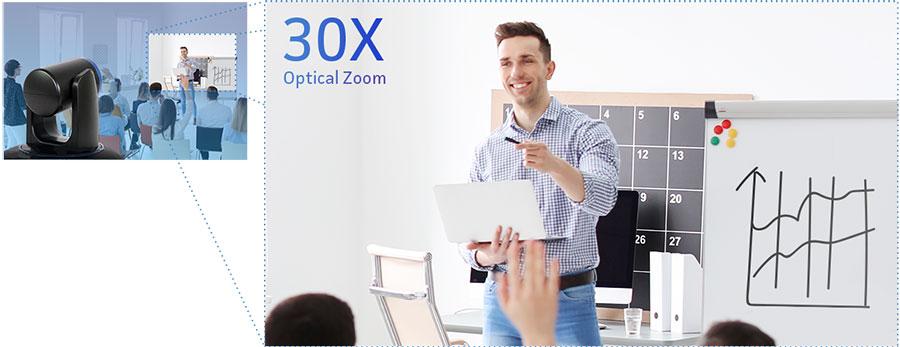 30x Optical Zoom