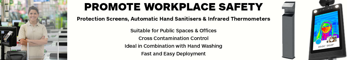 Plexi Shields and Automatic Hand Sanitiser
