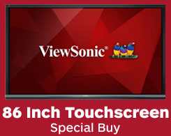 ViewSonic ViewBoard IFP8650 Interactive Touchscreen