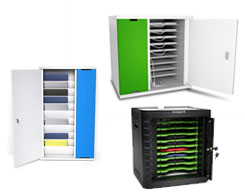 iPad & Tablet Desktop & Wall Mounted Security & Storage Modules