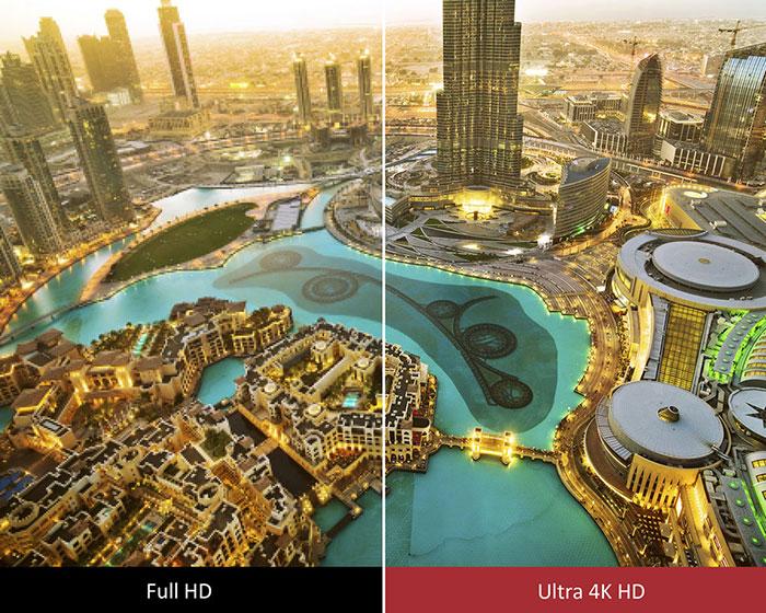 ViewSonic CDE9800 4K comparison