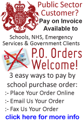 Public Sector Orders - Schools, NHS, Police and Government
