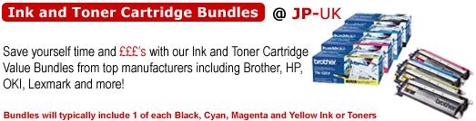 JP-UK Ink and Toner Value Bundles
