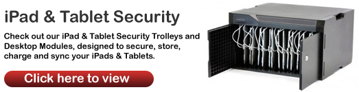 JP-UK iPad & Tablet Security Trolleys & Modules